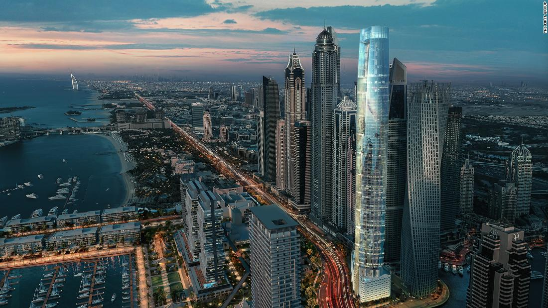 The world's tallest hotel to open in Dubai