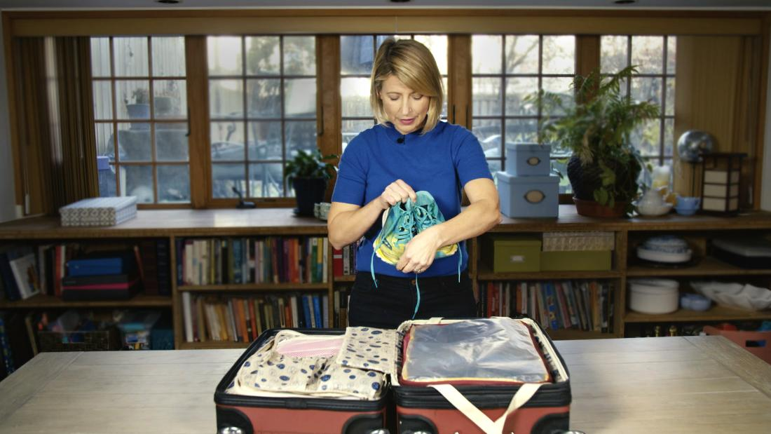 How to pack a carry on with Samantha Brown