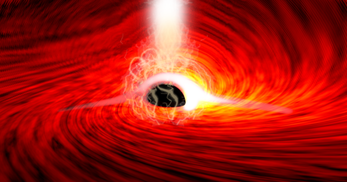 Astronomers spot light from behind a black hole for the first time — proving Einstein right, again