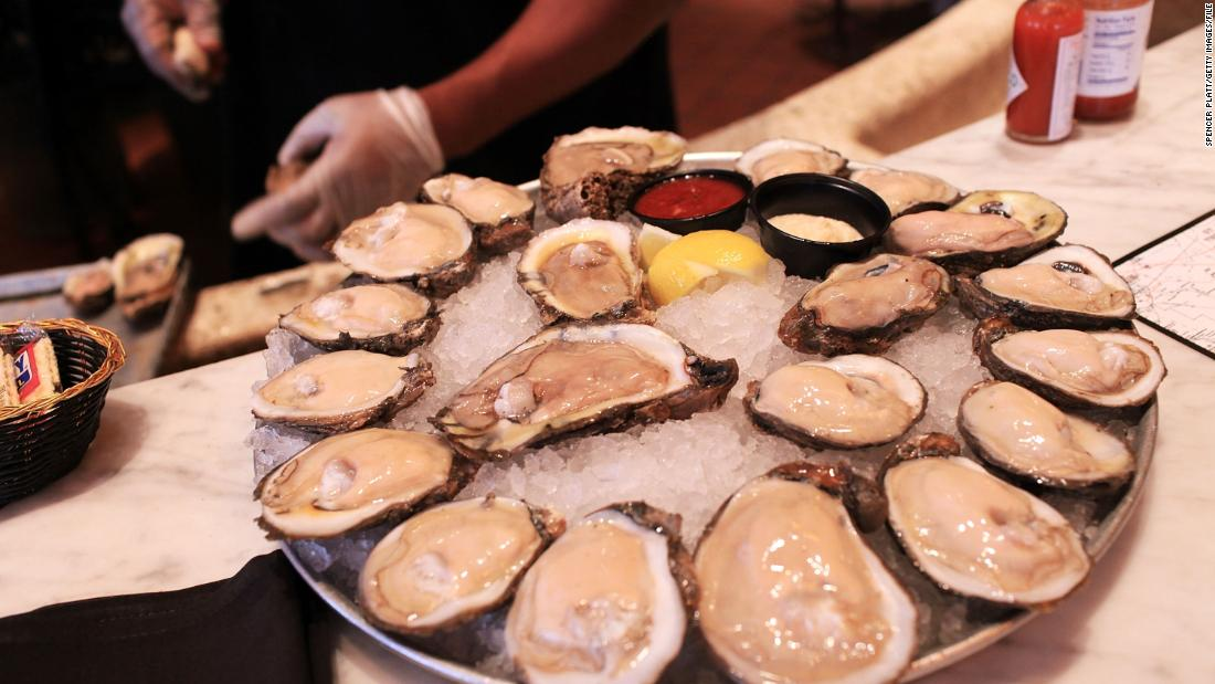 The US eats 2 billion pounds of oysters every year