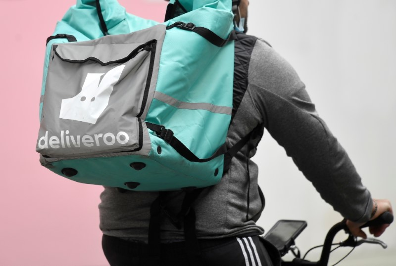 Deliveroo doubles orders value even as lockdowns ease
