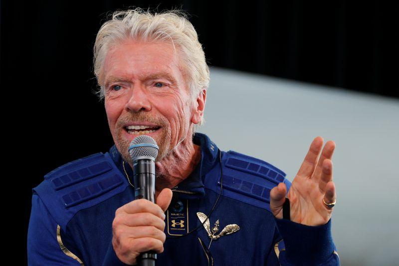 Virgin Galactic falls as billionaire Branson sells stake worth $300 million