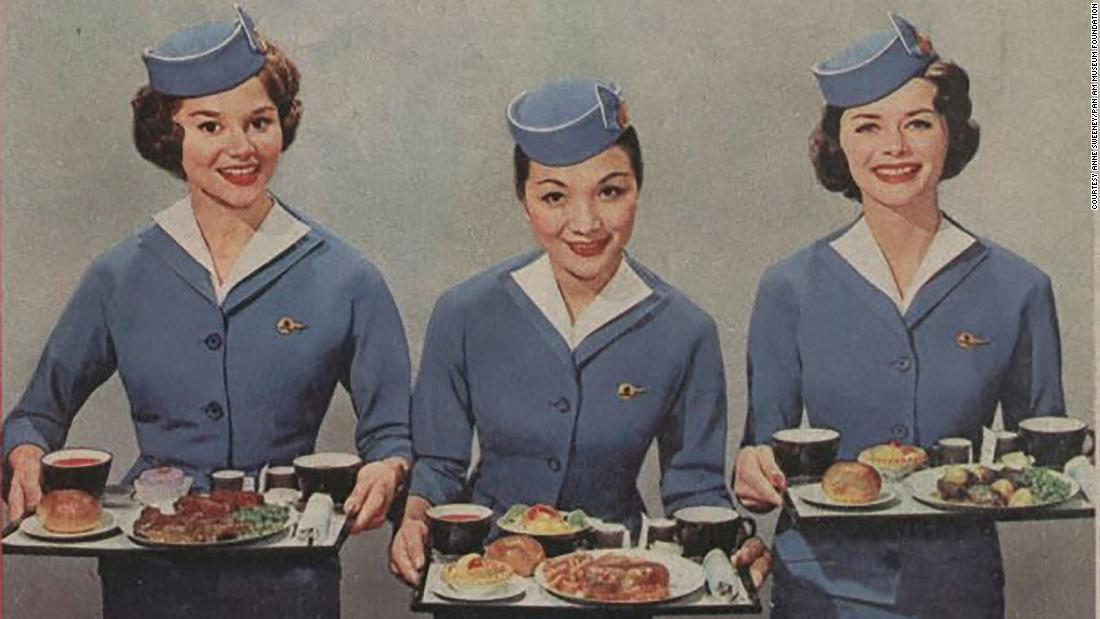 Cognac and cigars: The golden age of inflight meals