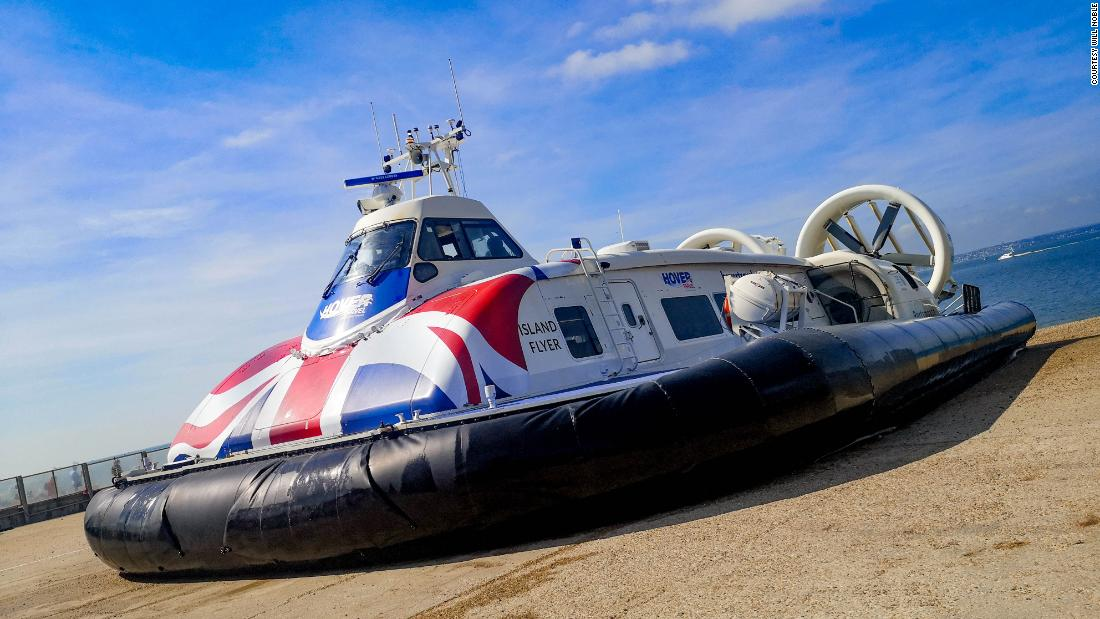 The hovercraft that kept on going