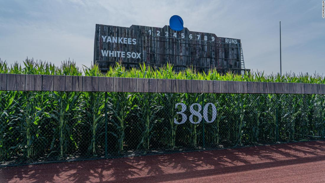 Field of Dreams in Dyersville, Iowa, finally gets first official Major League Baseball game