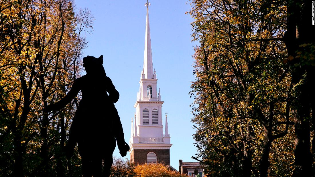 Boston's Old North Church, made famous by Paul Revere, reckons with its ties to slavery
