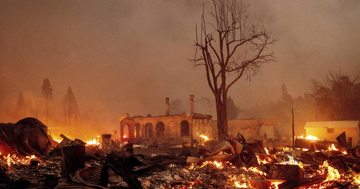 """Dixie Fire incinerates historic California town: """"We lost Greenville"""""""