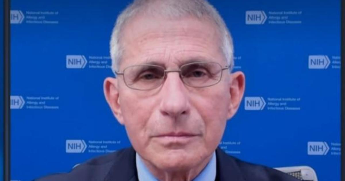 """Dr. Anthony Fauci says he feels """"quite good"""" after getting COVID vaccine"""