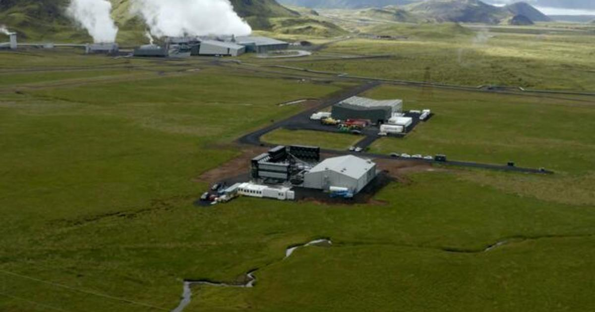 New facility in Iceland will capture 4,000 tons of CO2 out of atmosphere per year