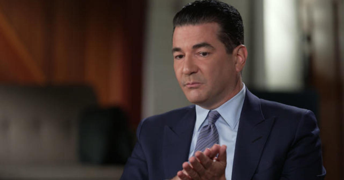 """Extended interview: Dr. Scott Gottlieb on """"Face the Nation"""" with Margaret Brennan, Part 2."""
