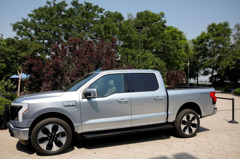 Ford to boost F-150 Lightning production capacity to 80,000 per year