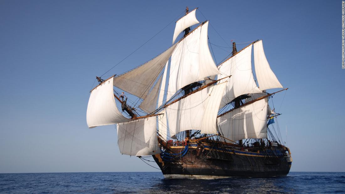 Götheborg II: Replica of Swedish 18th century ship plans to sail to China