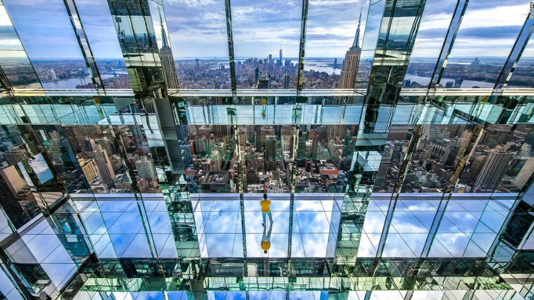 Summit One Vanderbilt glass box observatory to open high above New York