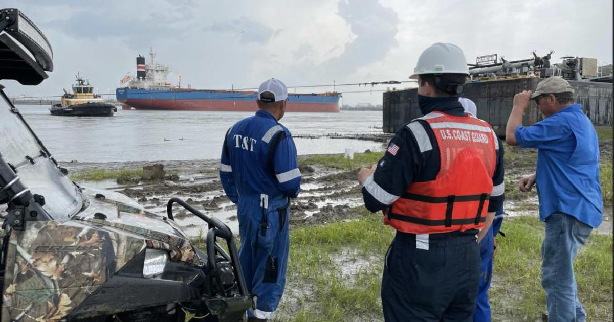 U.S. Coast Guard investigating nearly 350 reported oil spills after Hurricane Ida