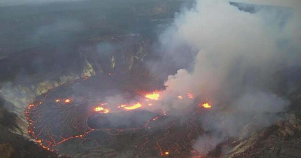 Hawaii's Kilauea volcano erupts - CBS News